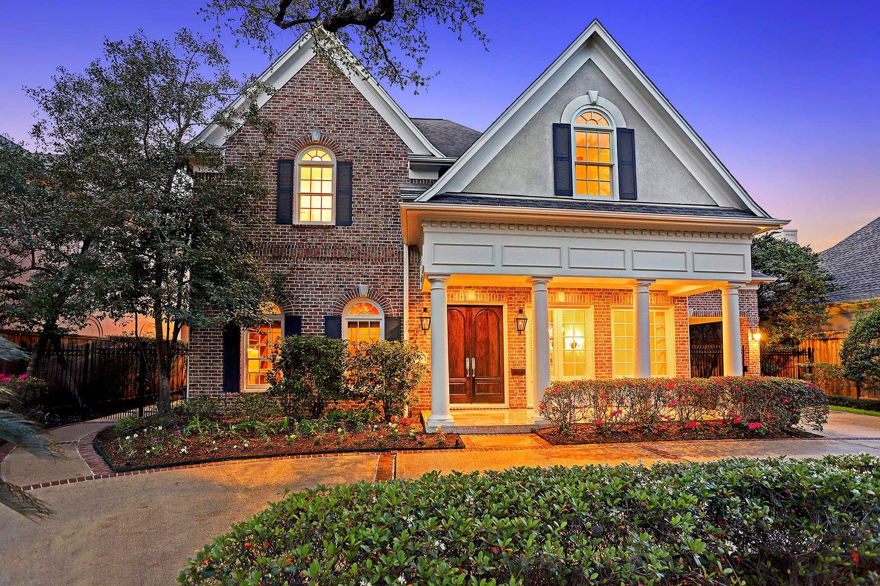 Частный односемейный дом для того Продажа на 5090 Cedar Creek Drive Houston, Техас, 77056 Соединенные Штаты
