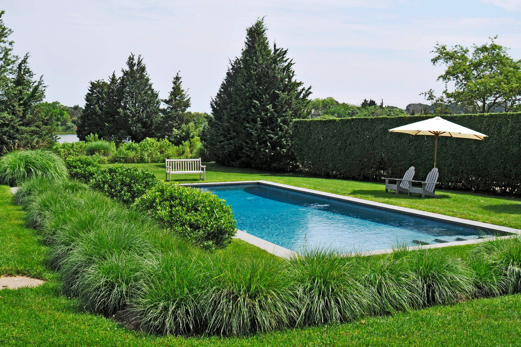 Additional photo for property listing at Sag Harbor Waterfront With Pool 4405 Noyac Road Sag Harbor, New York 11963 United States