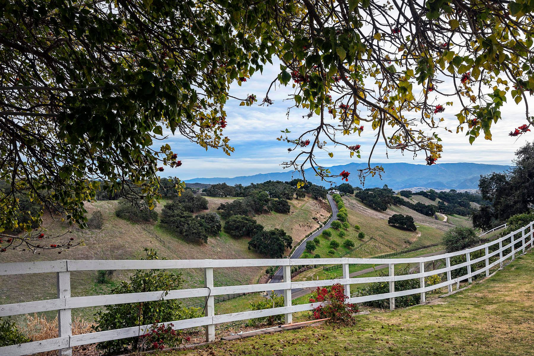 Single Family Home for Sale at Big Views, Big Bones, Big Opportunity 3671 Live Oak Road, Santa Ynez, California, 93460 United States