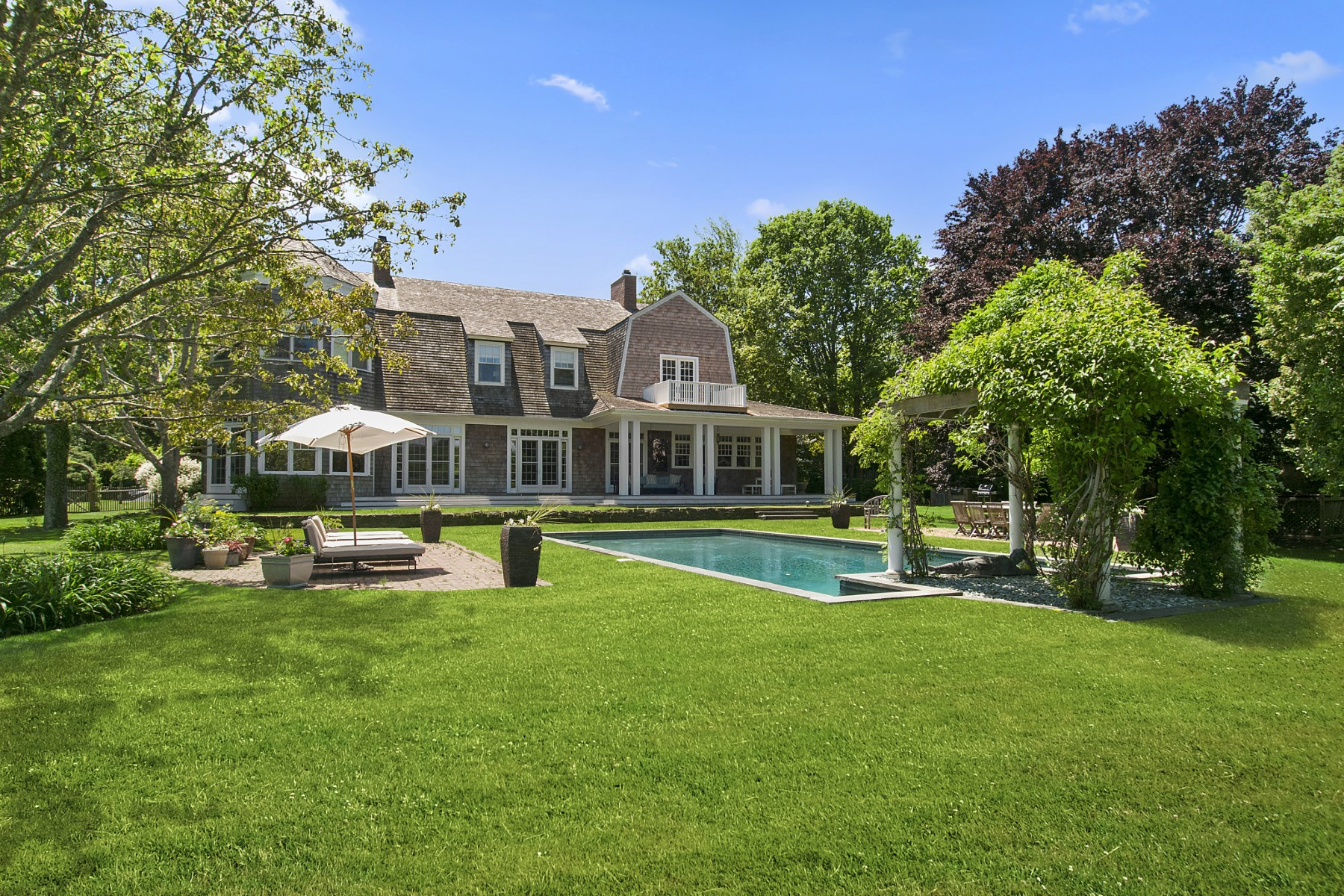 Single Family Home for Rent at Egypt Lane Compound with Guest Cottage East Hampton Village, East Hampton, New York, 11937 United States
