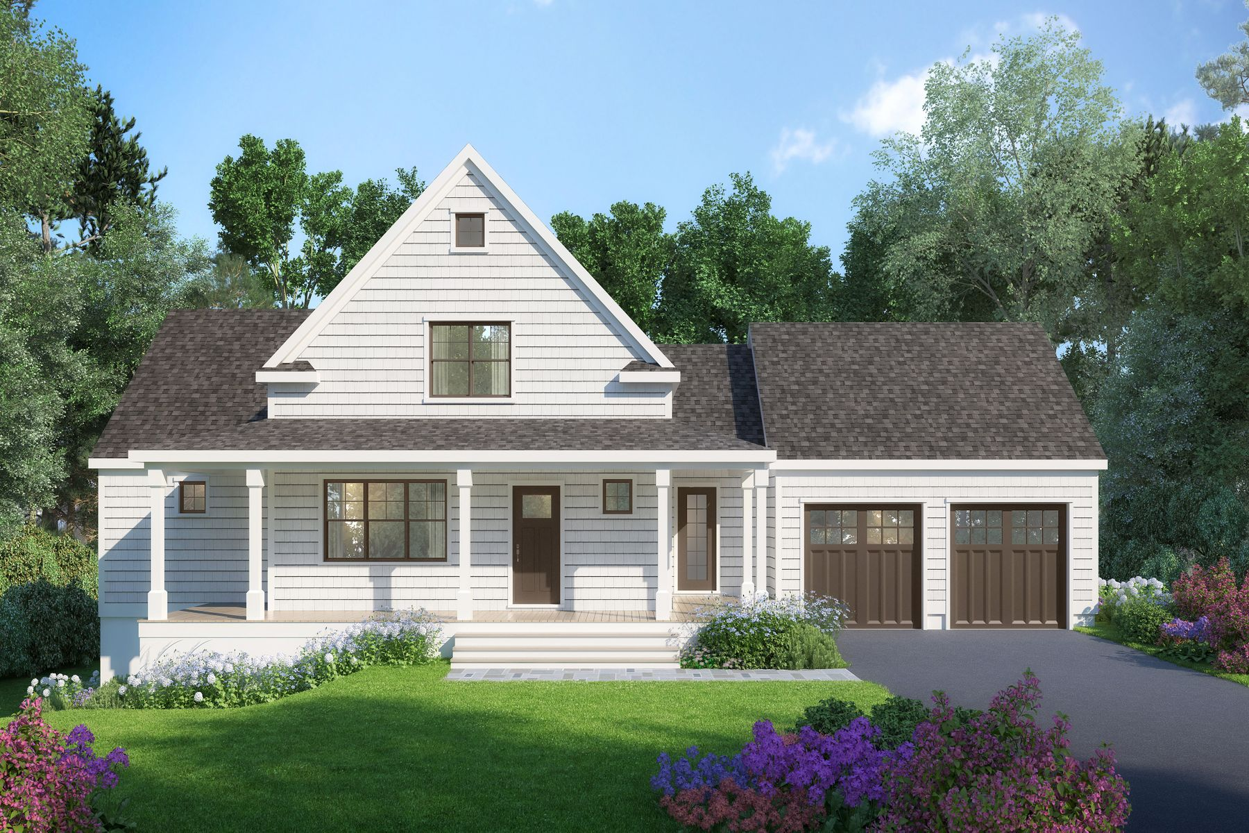 Single Family Home for Active at North Falmouth Village New Construction 107 Cobblestone Lane North Falmouth, Massachusetts 02556 United States
