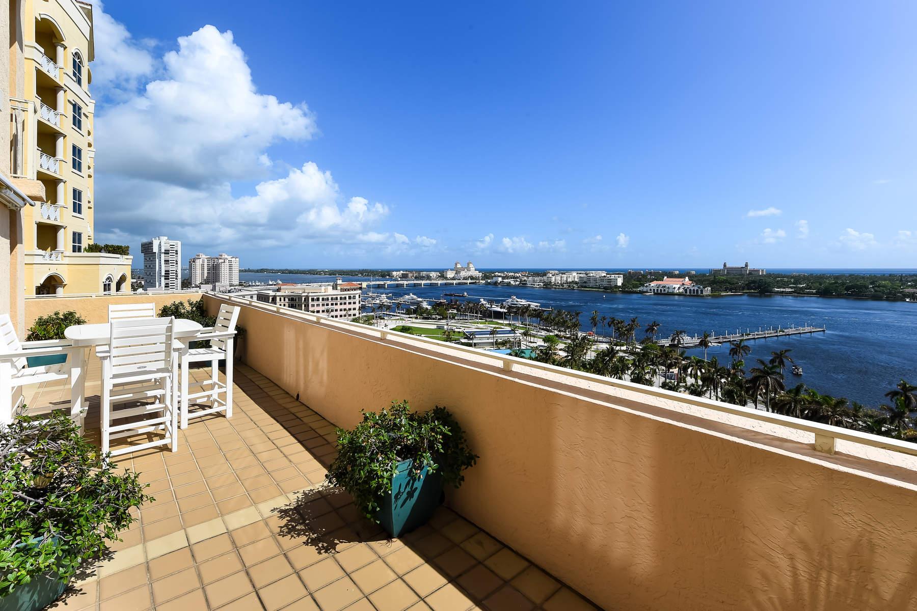 Condominio per Vendita alle ore Amazing Outdoor Living and Views 255 Evernia Street 1104 West Palm Beach, Florida, 33401 Stati Uniti
