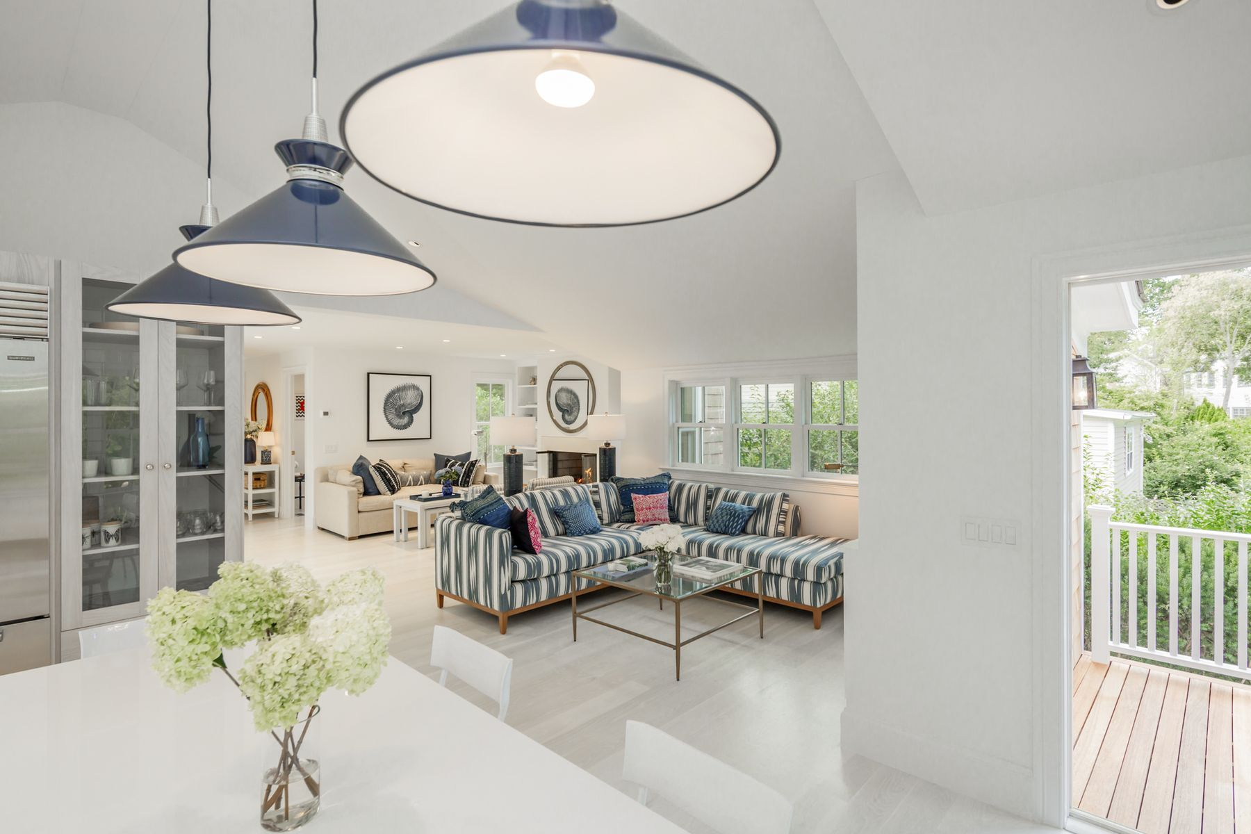 single family homes for Active at Brilliantly Re-Imagined Classic Cottage 11 Oakland Avenue Sag Harbor, New York 11963 United States