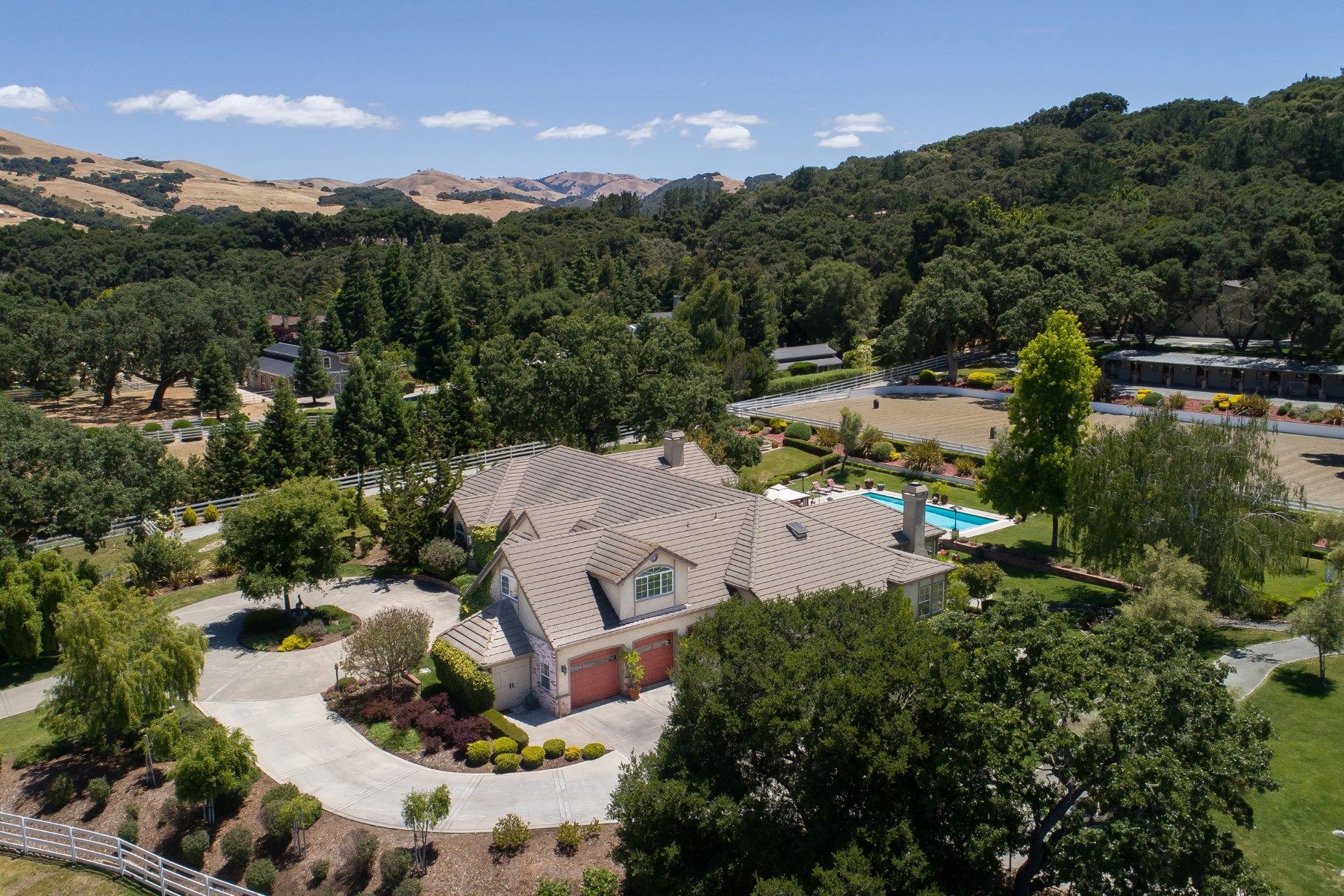 Single Family Home for Sale at 6 Sleepy Hollow 6 Sleepy Hollow Drive Carmel Valley, California, 93924 United States