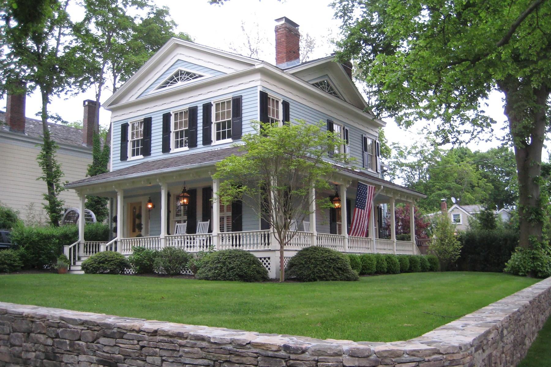 独户住宅 为 出租 在 Sag Harbor Village Captain's House & 31 Hampton Street, Sag Harbor Village, 萨格港, 纽约州, 11963 美国