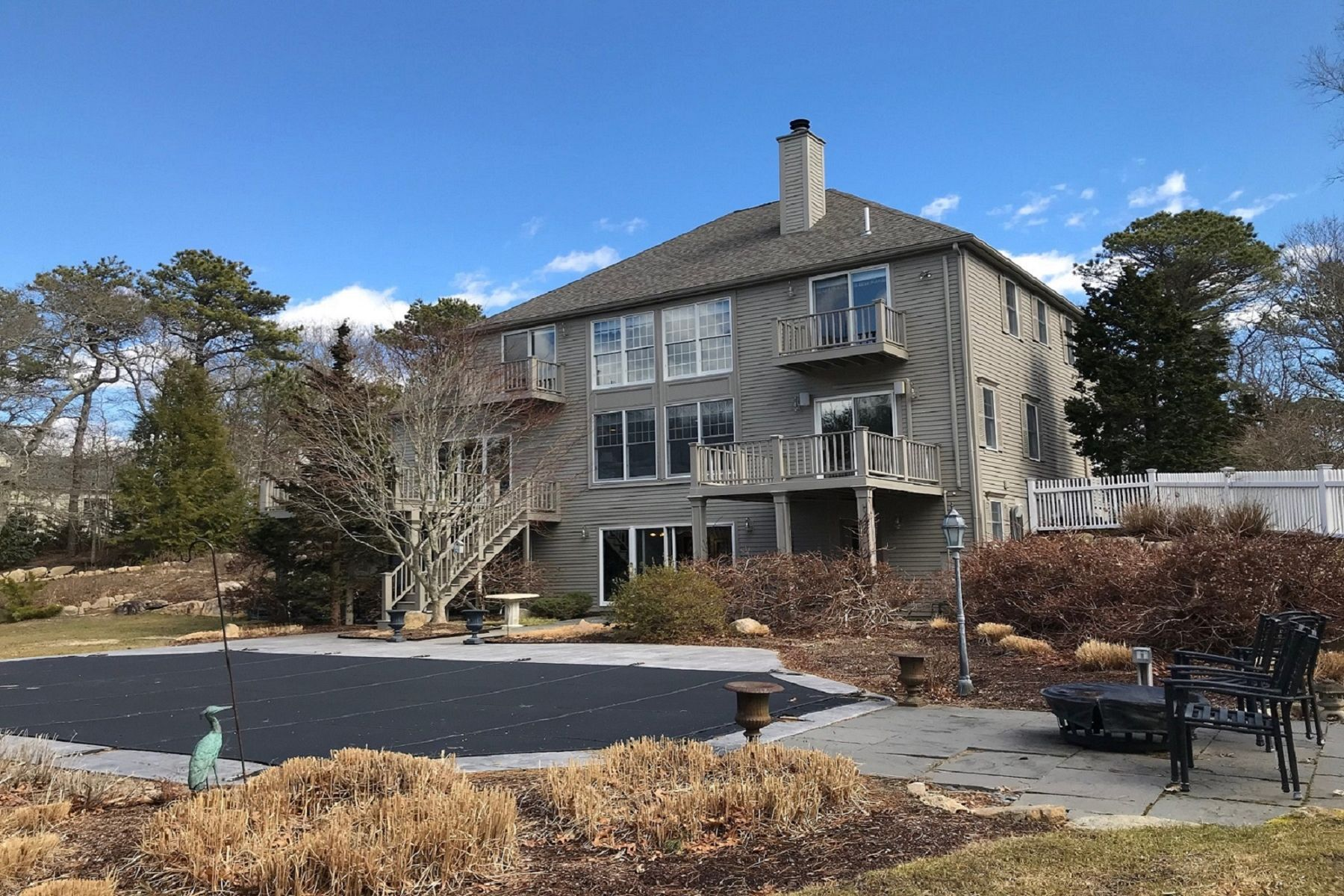 Single Family Home for Active at Luxury Contemporary Living 374 Cairn Ridge Road East Falmouth, Massachusetts 02536 United States