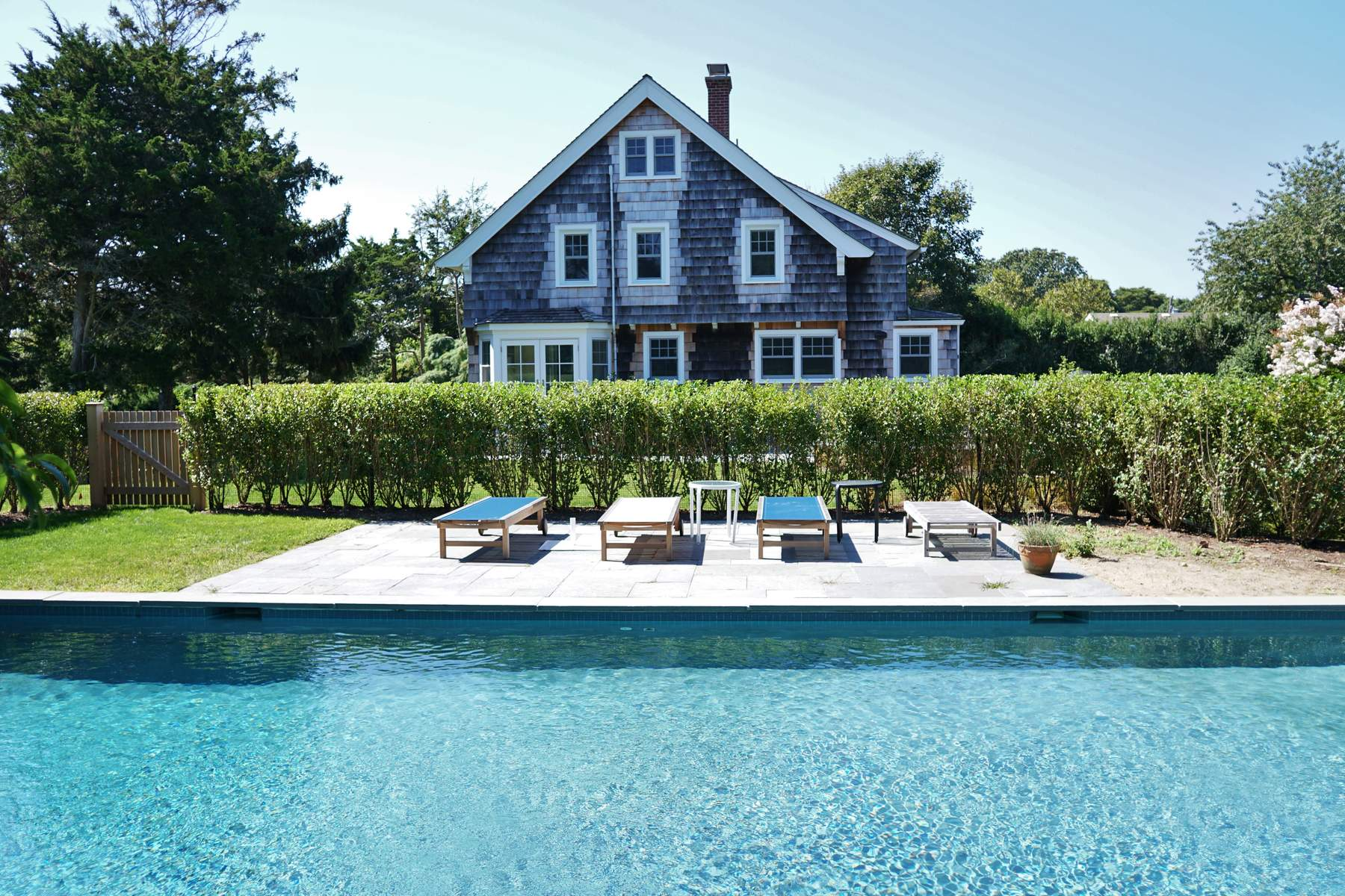 Single Family Home for Rent at Charming Traditional Minutes To Beach 368 Bluff Road Amagansett, New York 11930 United States