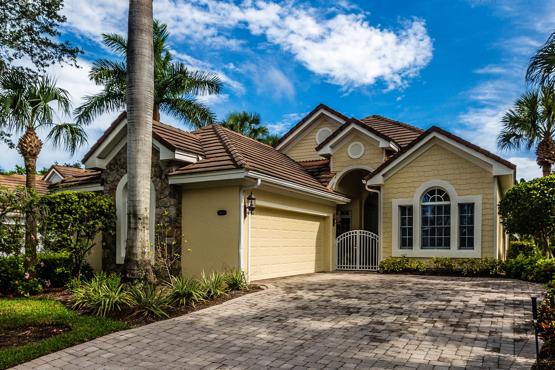 Einfamilienhaus für Verkauf beim FIDDLER'S CREEK - MALLARDS LANDING 8417 Mallards Way Naples, Florida, 34114 Vereinigte Staaten