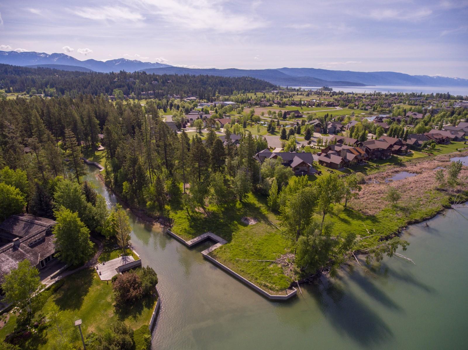 Đất đai vì Bán tại Mayport Harbor 140 Siderius Ln Bigfork, Montana, 59911 Hoa Kỳ