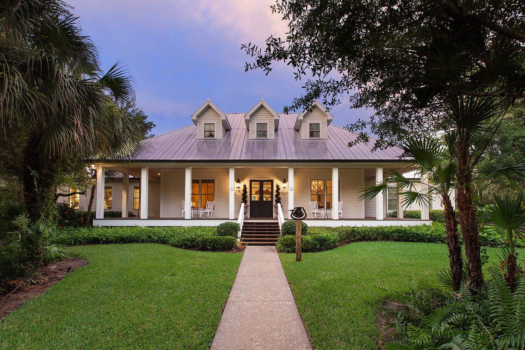Maison unifamiliale pour l Vente à MYAKKA RIVER TRAILS 800 N River Rd Venice, Florida 34293 États-Unis