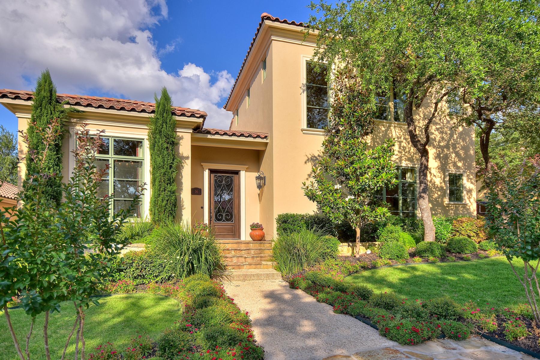 Maison unifamiliale pour l Vente à Impeccable Gem in The Dominion 14 Venice Ct The Dominion, San Antonio, Texas, 78257 États-Unis