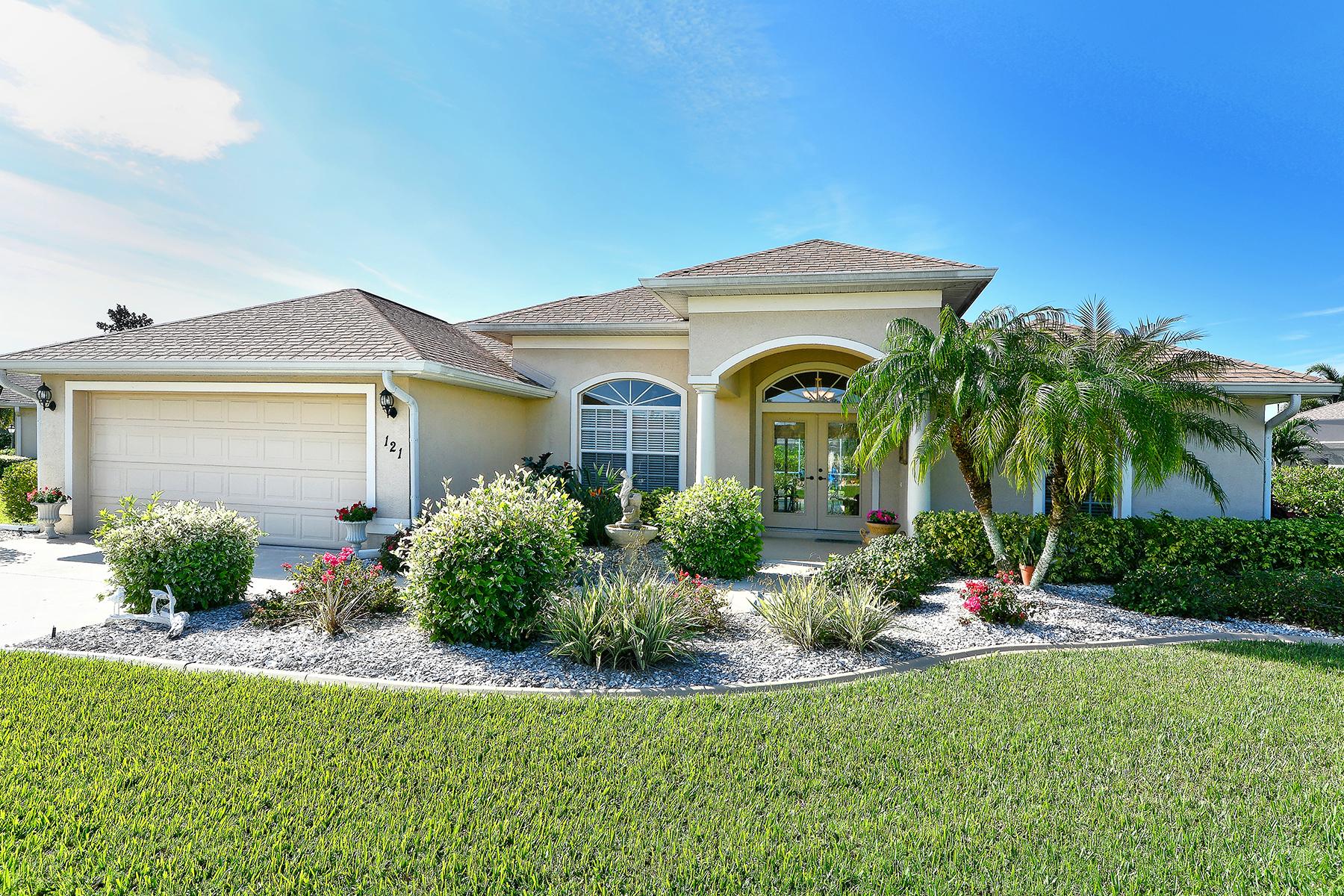 独户住宅 为 销售 在 BLUE HERON POND 121 Wading Bird Dr 威尼斯, 佛罗里达州, 34292 美国