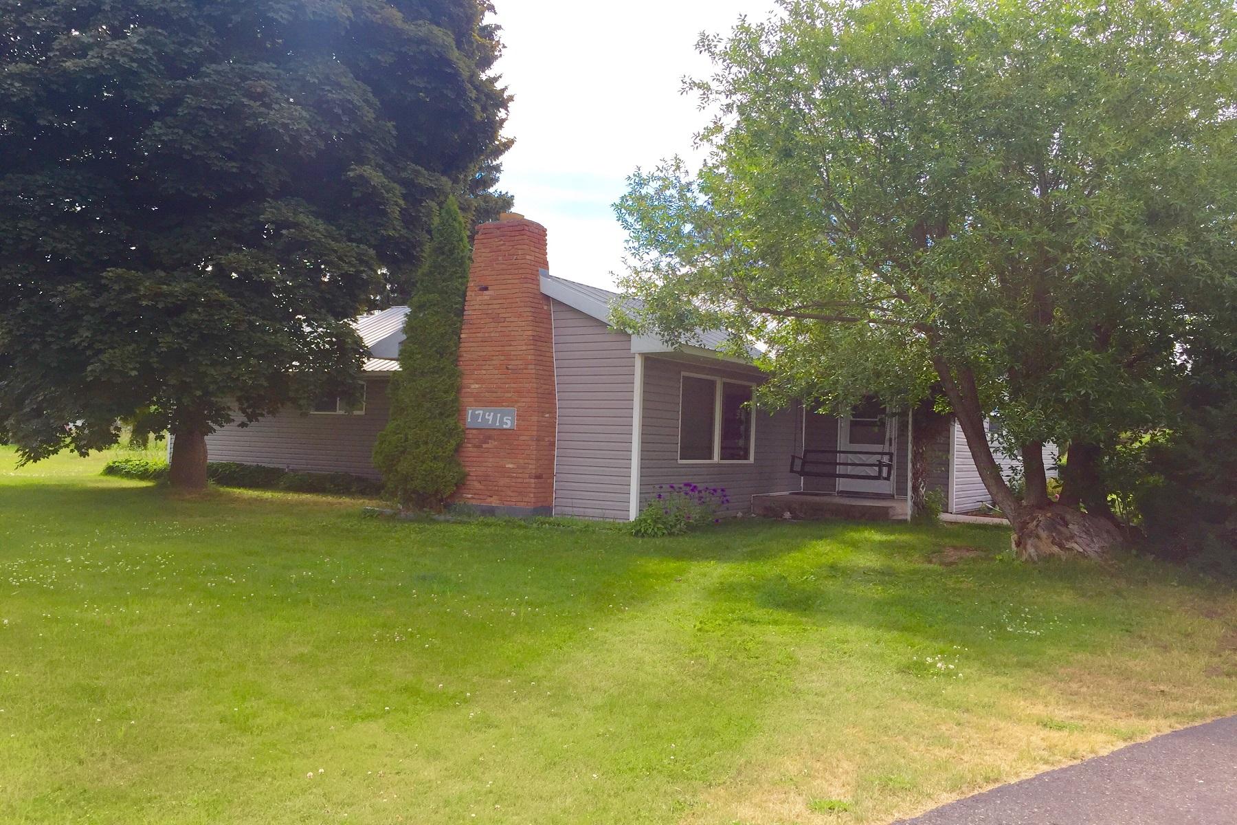 Casa para uma família para Venda às 17415 Mullan Road 17415 E Mullan Rd Frenchtown, Montana, 59834 Estados Unidos