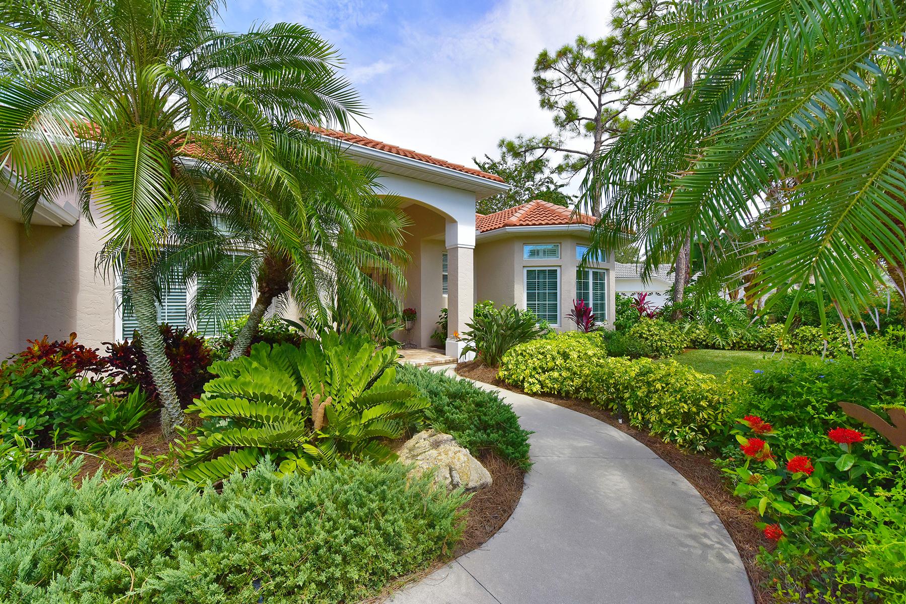 Einfamilienhaus für Verkauf beim CALUSA LAKES 2121 Muskogee Trl Nokomis, Florida 34275 Vereinigte Staaten