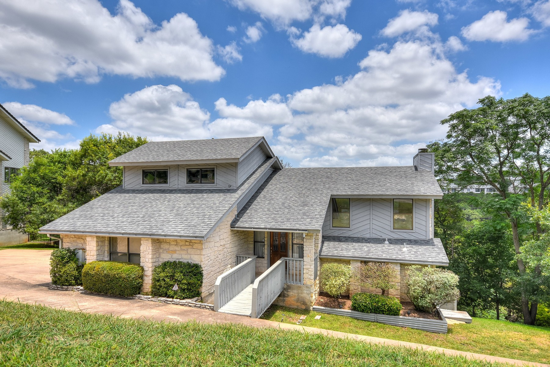 Single Family Home for Sale at A Million Dollar View for an Affordable Price 5672 Rain Creek Pkwy Austin, Texas 78759 United States