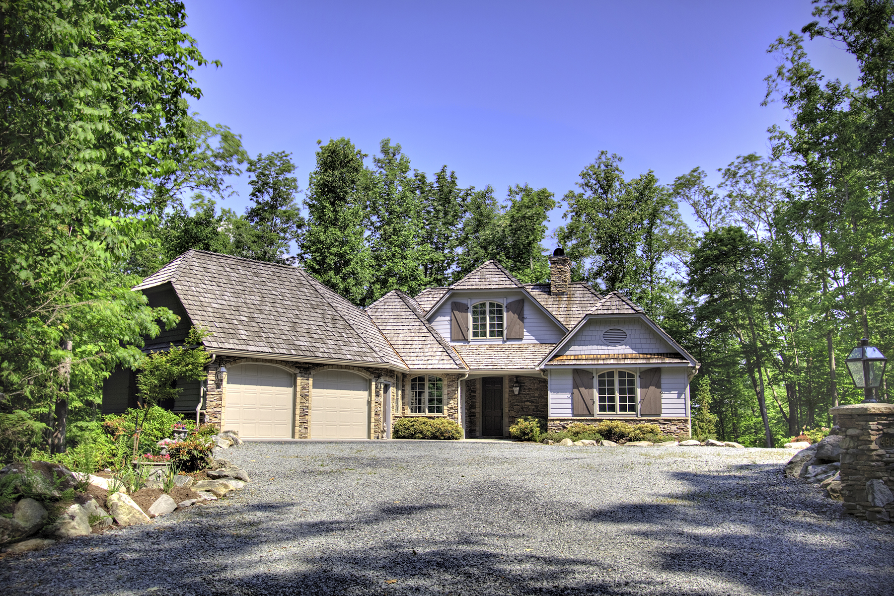 Single Family Home for Sale at BOONE - TWIN RIVERS 496 Ontario Ridge Boone, North Carolina, 28607 United States