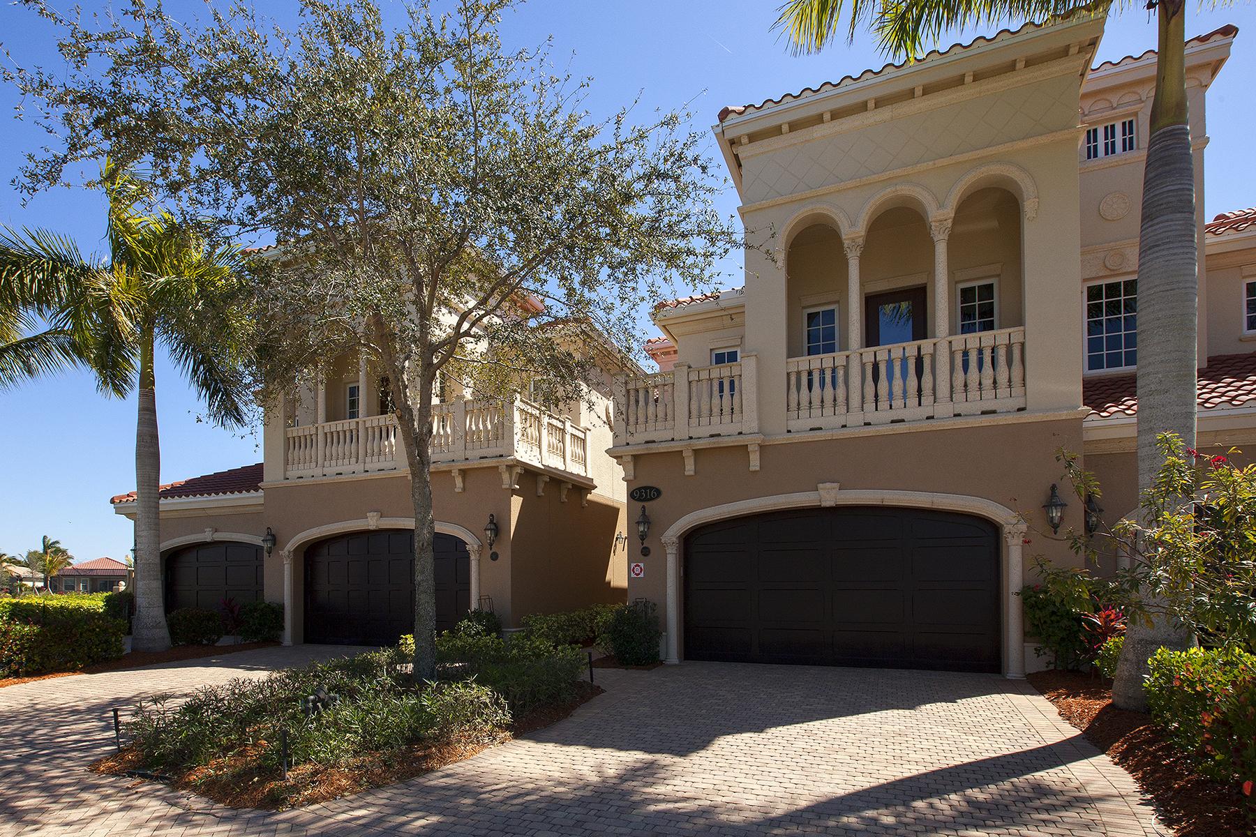 Кооперативная квартира для того Продажа на FIDDLER'S CREEK - MENAGGIO 9316 Menaggio Ct 202 Naples, Флорида 34114 Соединенные Штаты