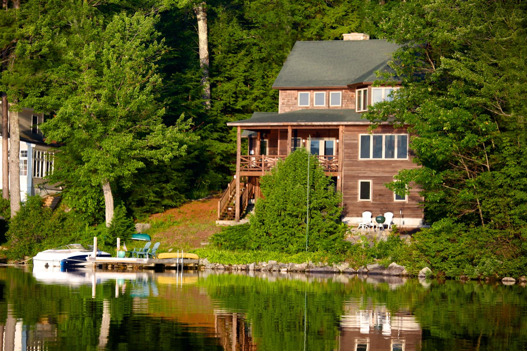 Single Family Home for Sale at 199 Bay Point, Newbury 199 Bay Point Rd Newbury, New Hampshire 03255 United States
