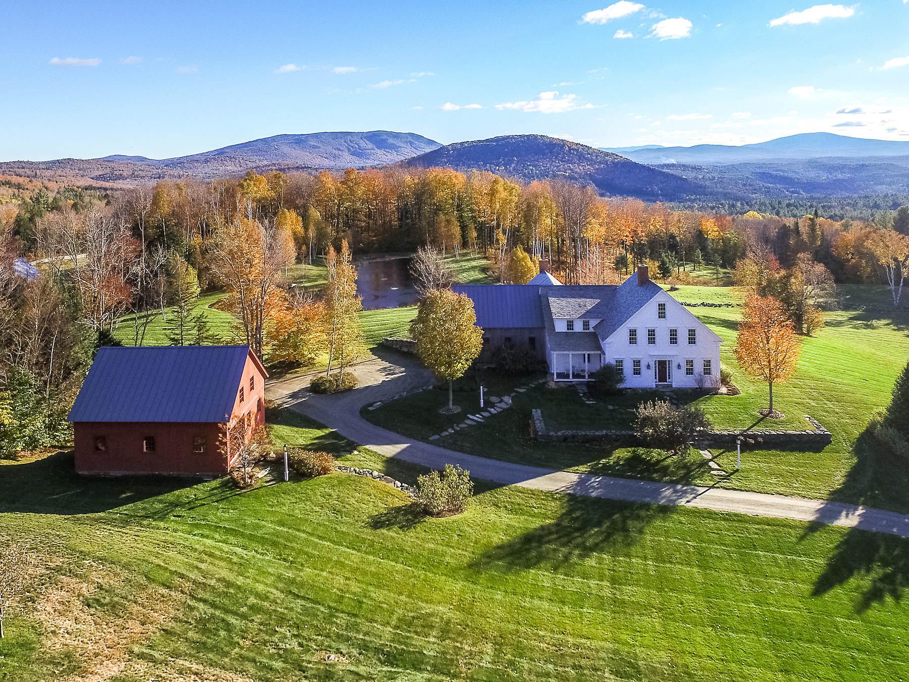Single Family Home for Sale at Crab Apple Knoll Equestrian Property 231 Dale Rd Weston, Vermont, 05161 United States