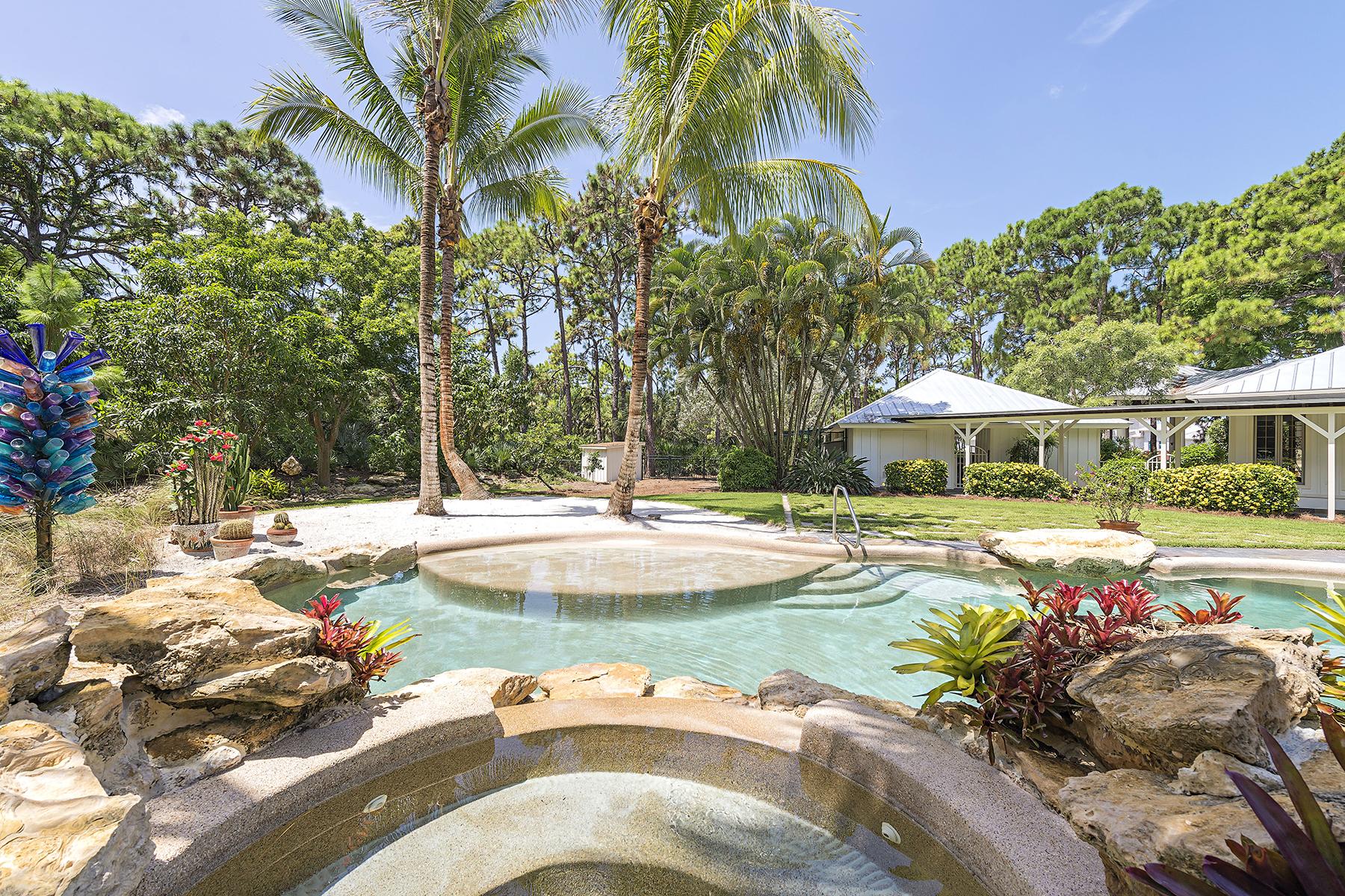 Einfamilienhaus für Verkauf beim PINE RIDGE 63 Eugenia Dr Naples, Florida, 34108 Vereinigte Staaten