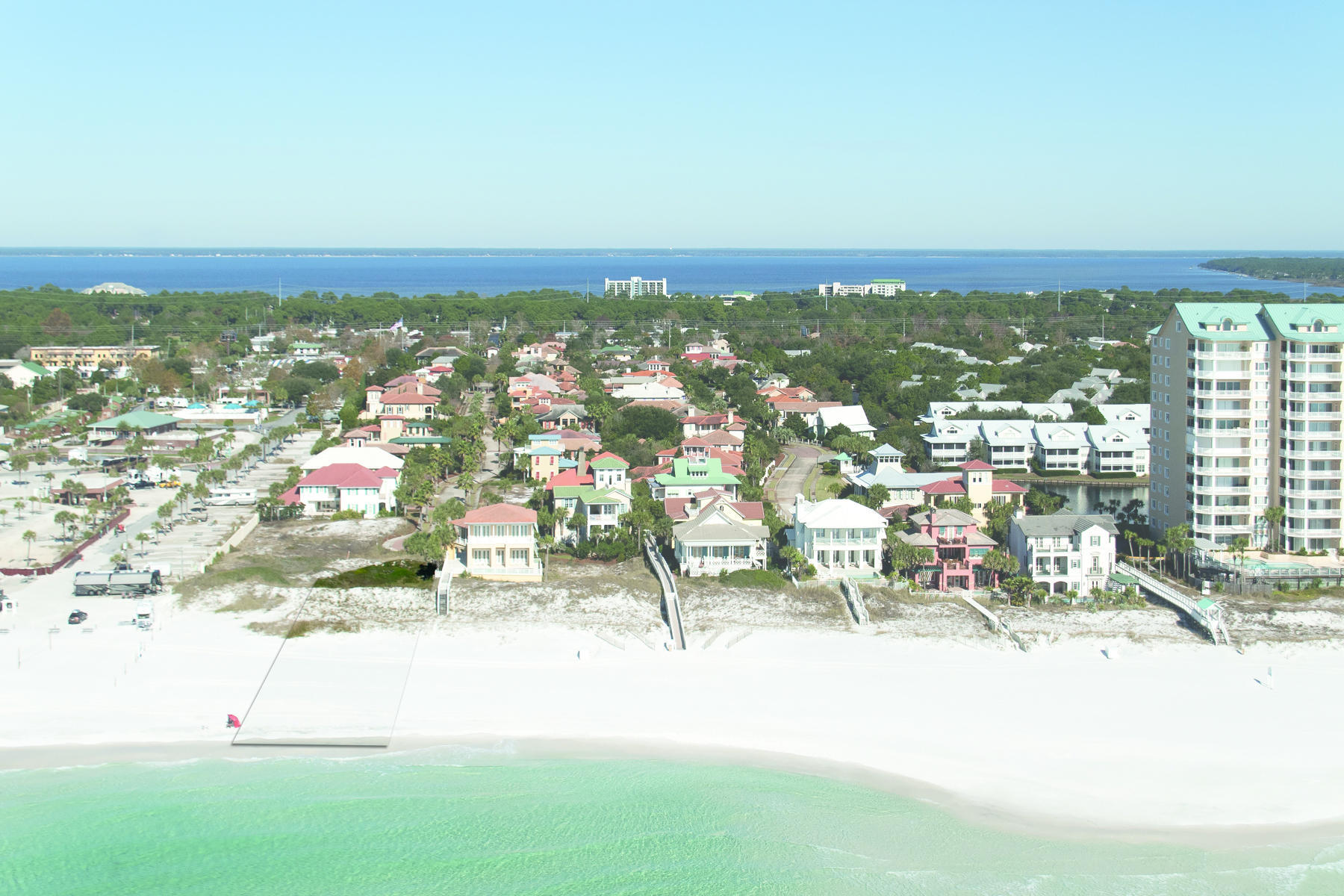 Land for Sale at Gulf front lot in Ca Lot 32 Rue Martine Miramar Beach, Florida 32550 United States