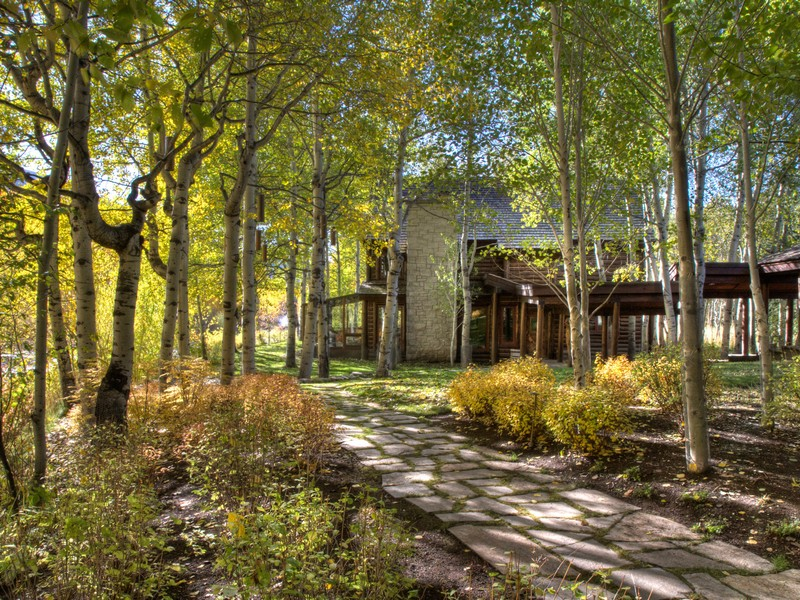 sales property at Magical Big Wood River Compound
