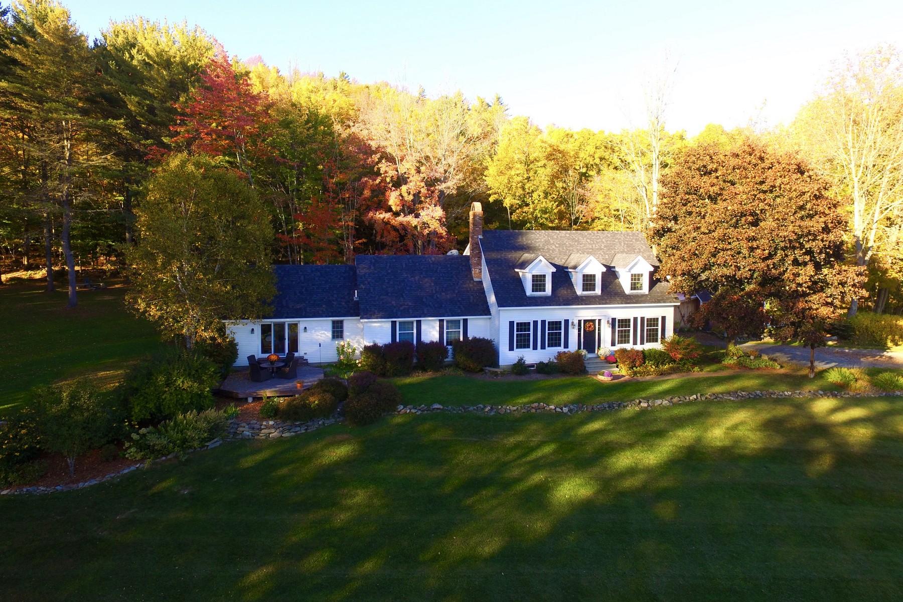 단독 가정 주택 용 매매 에 Waterford Vermont Gentleman's Farm 232 Lower Waterford Rd Waterford, 베르몬트, 05848 미국