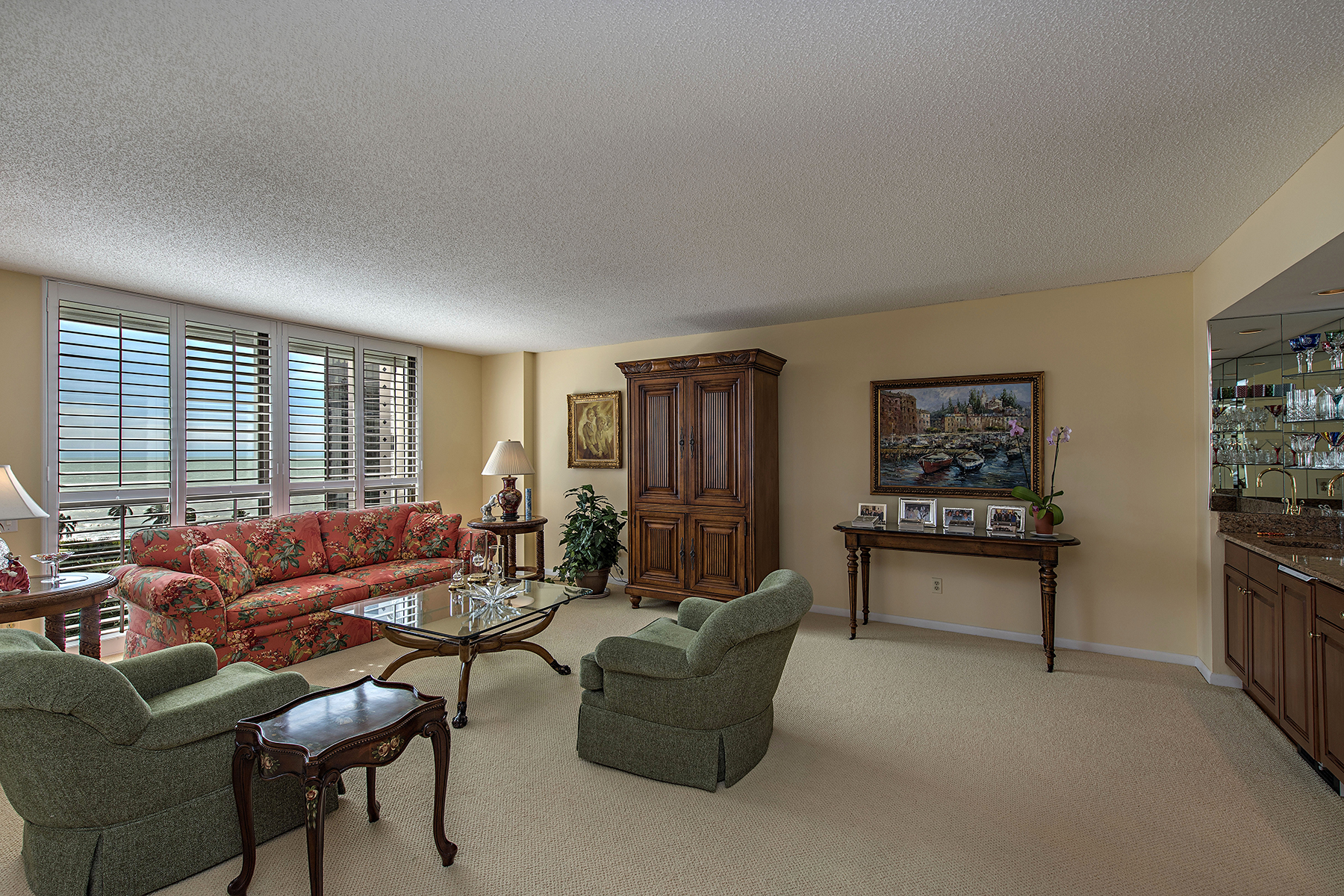 Condominium for Sale at PARK SHORE - MONACO BEACH CLUB 4401 Gulf Shore Blvd N 1007 Naples, Florida, 34103 United States