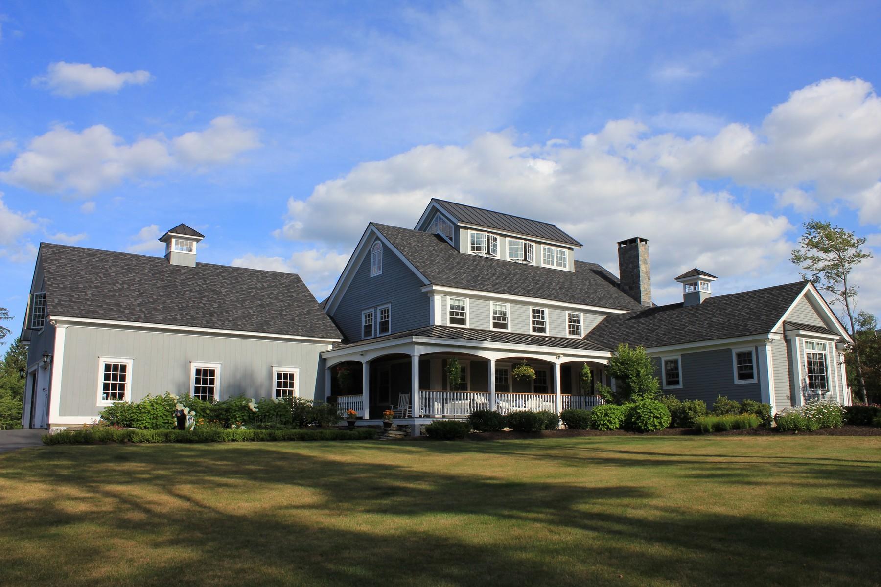 Maison unifamiliale pour l Vente à Spectacular Country Retreat 23 Catey Rose Ln Stratton, Vermont, 05360 États-Unis
