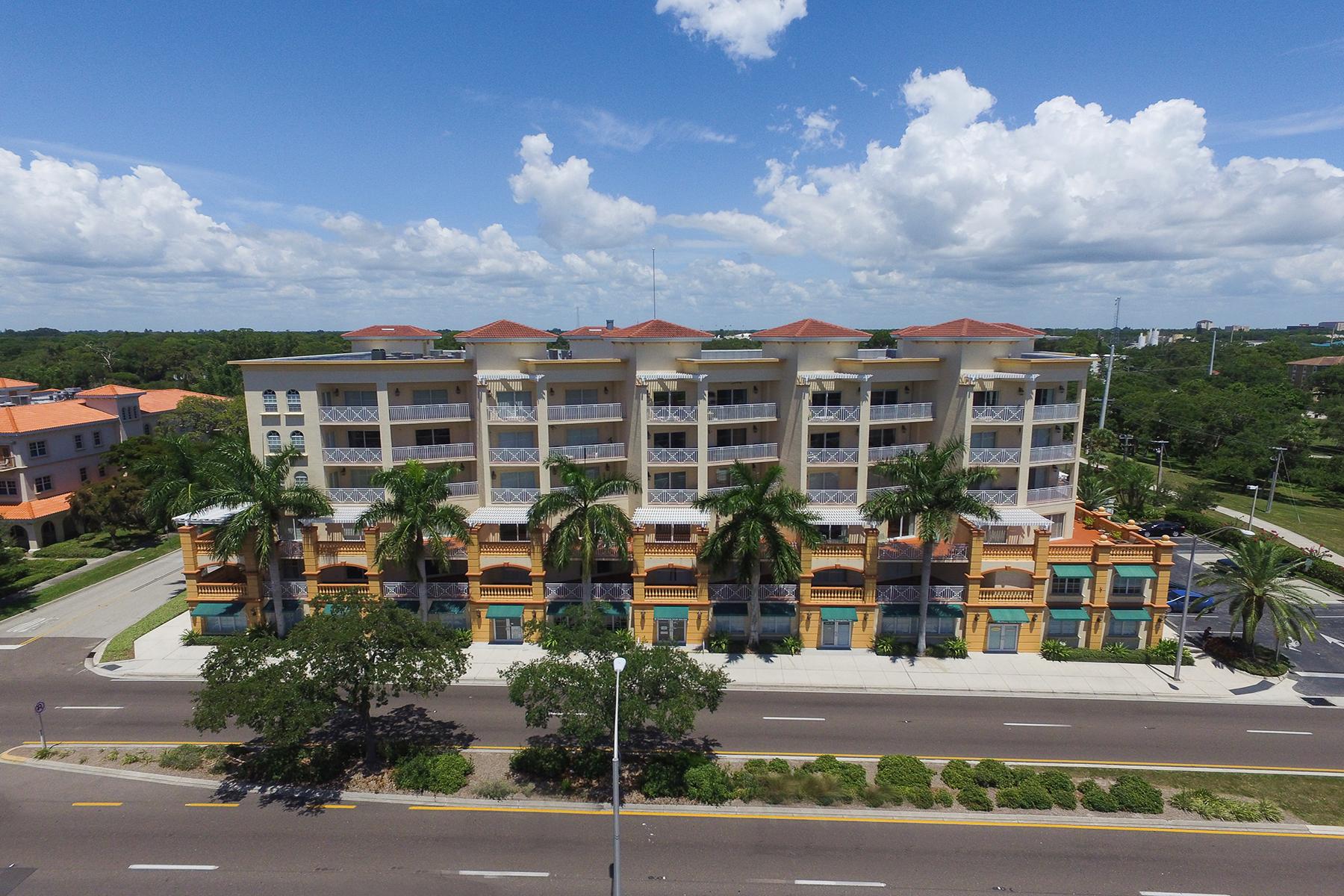 共管物業 為 出售 在 SAN MARCO 1188 N Tamiami Trl 203 Sarasota, 佛羅里達州, 34236 美國