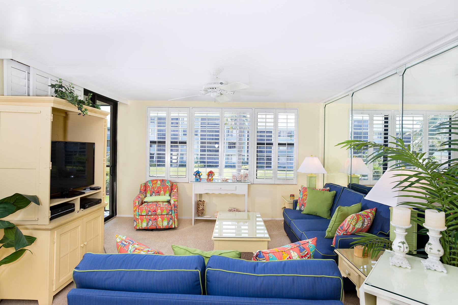 共管式独立产权公寓 为 销售 在 Sanibel 979 E Gulf Dr E592 撒你贝尔, 佛罗里达州, 33957 美国