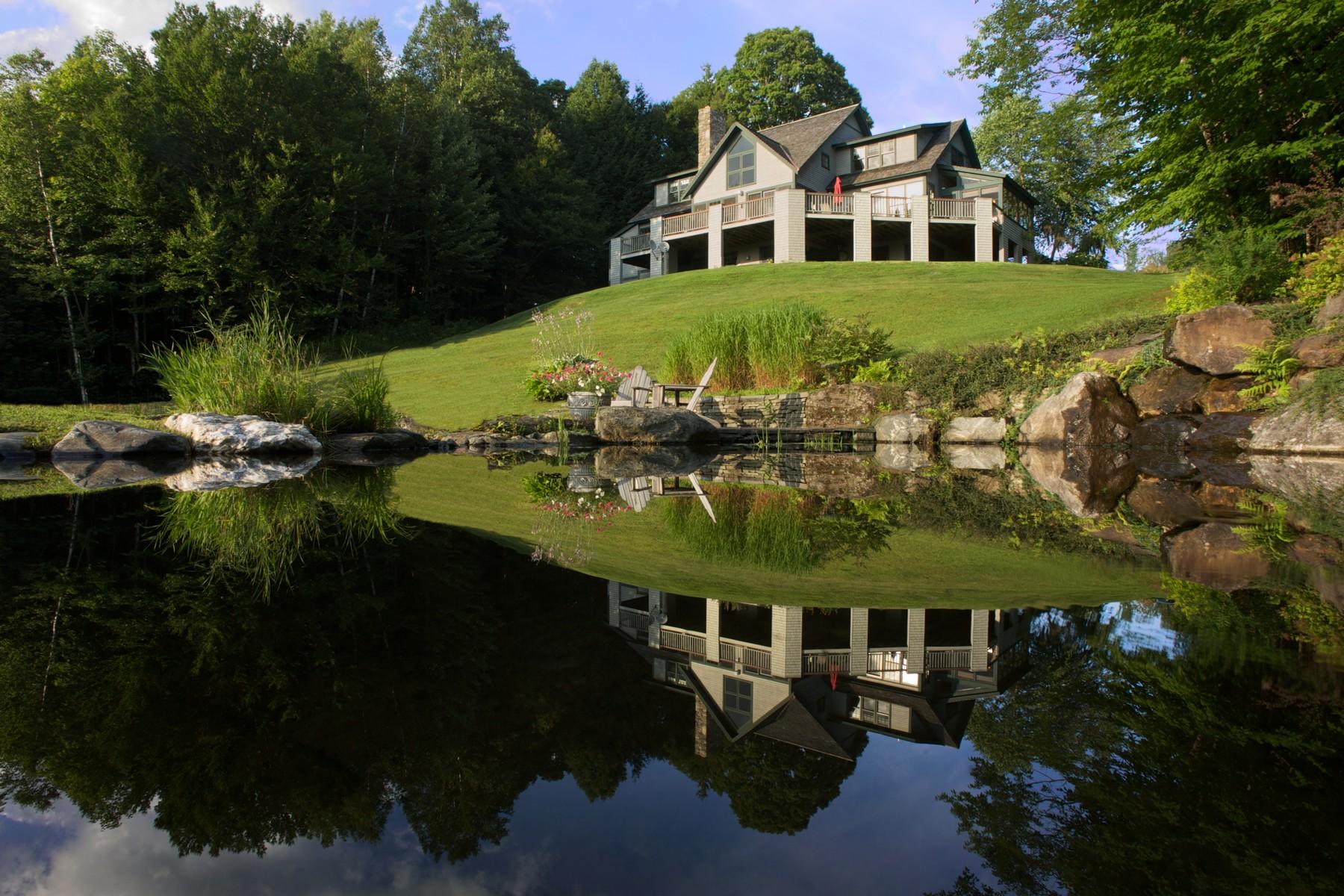 獨棟家庭住宅 為 出售 在 Craftmanstyle Living 267 Weeks Hill Meadow Stowe, 佛蒙特州 05672 美國