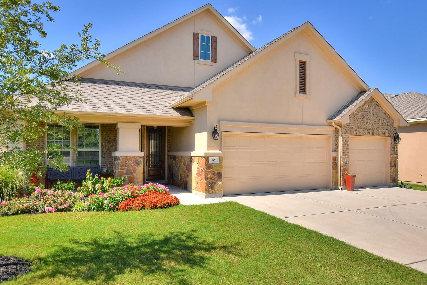 Casa Unifamiliar por un Venta en Stunning Home in Neighborly Reunion Ranch! 306 Emma Loop Austin, Texas 78737 Estados Unidos