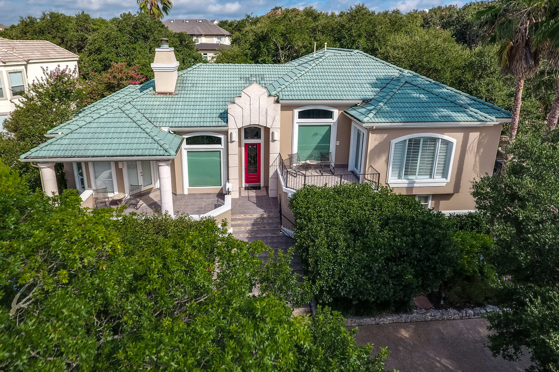 Single Family Home for Sale at Stunning Villa in Greystone Country Estates 19122 Nature Oaks San Antonio, Texas, 78258 United States