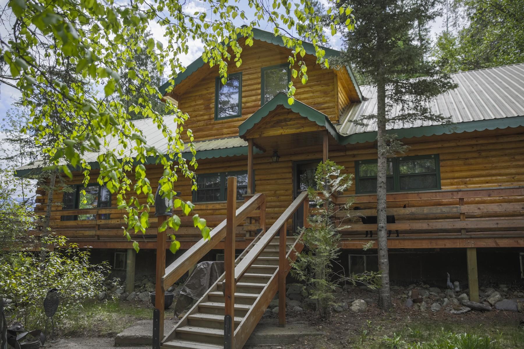 Частный односемейный дом для того Продажа на 29390 Cedar Bay Lane 29390 Cedar Bay Ln Bigfork, Монтана, 59911 Соединенные Штаты