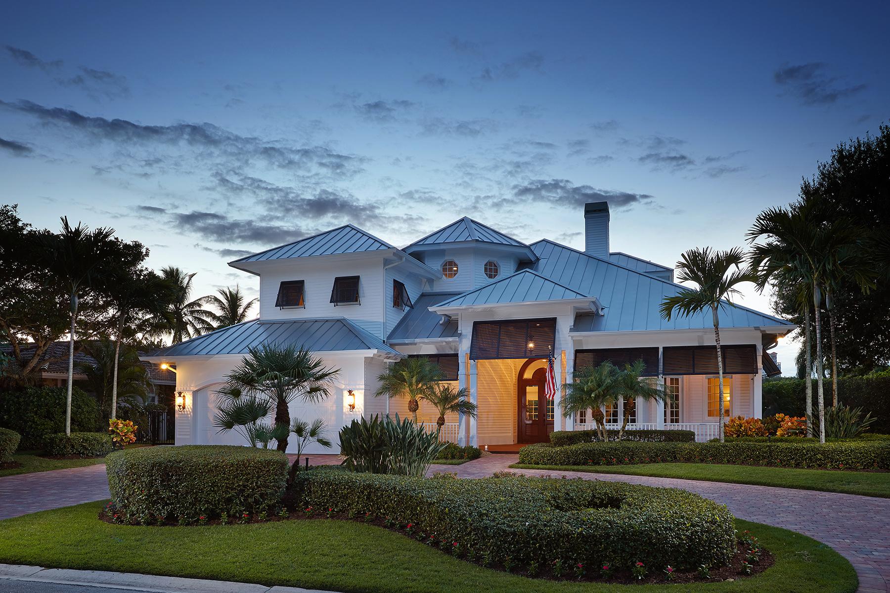 独户住宅 为 销售 在 PARK SHORE 4745 Whispering Pine Way 那不勒斯, 佛罗里达州, 34103 美国