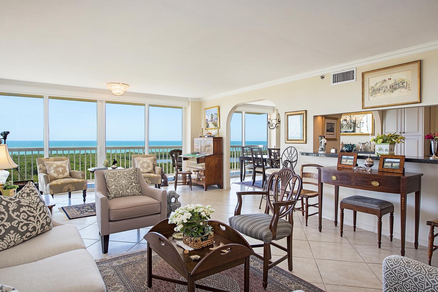 Appartement en copropriété pour l Vente à PELICAN BAY - ST. KITTS 6585 Nicholas Blvd 1401 Naples, Florida, 34108 États-Unis
