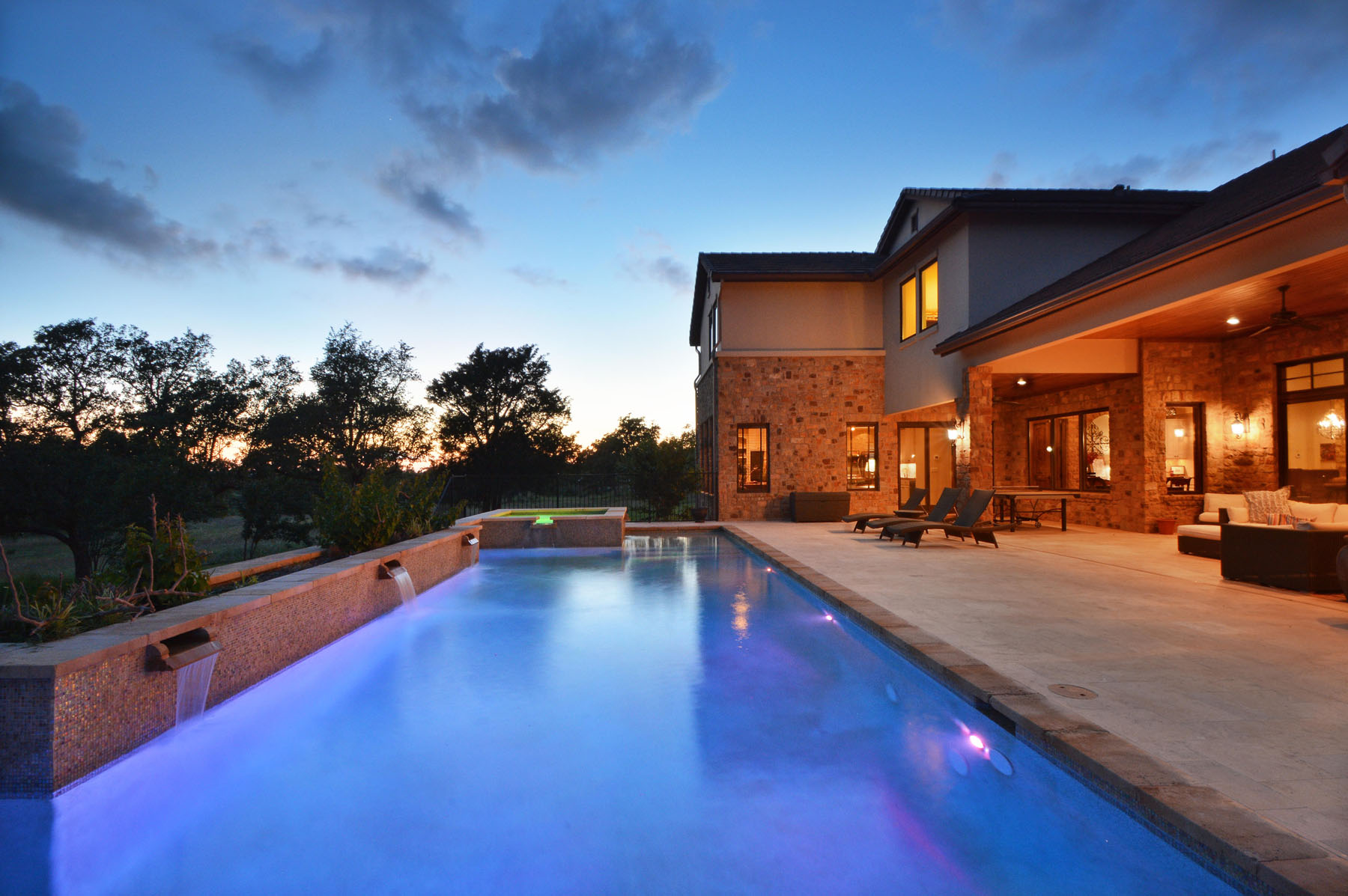 Single Family Home for Sale at Fabulous Views and Privacy 8041 Carlton Ridge Cv Austin, Texas 78738 United States