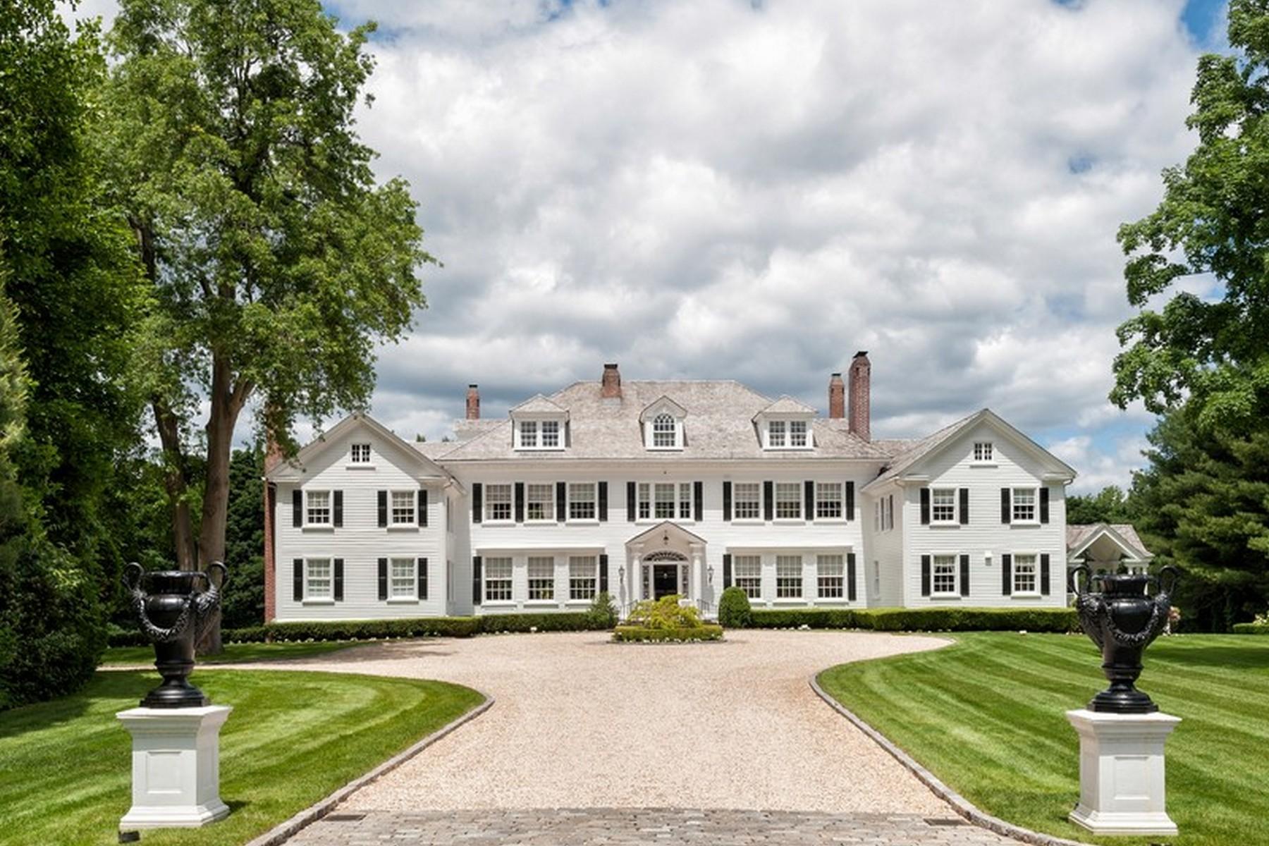 独户住宅 为 销售 在 Colonial 199 Feeks Ln Lattingtown, 纽约州, 11560 美国