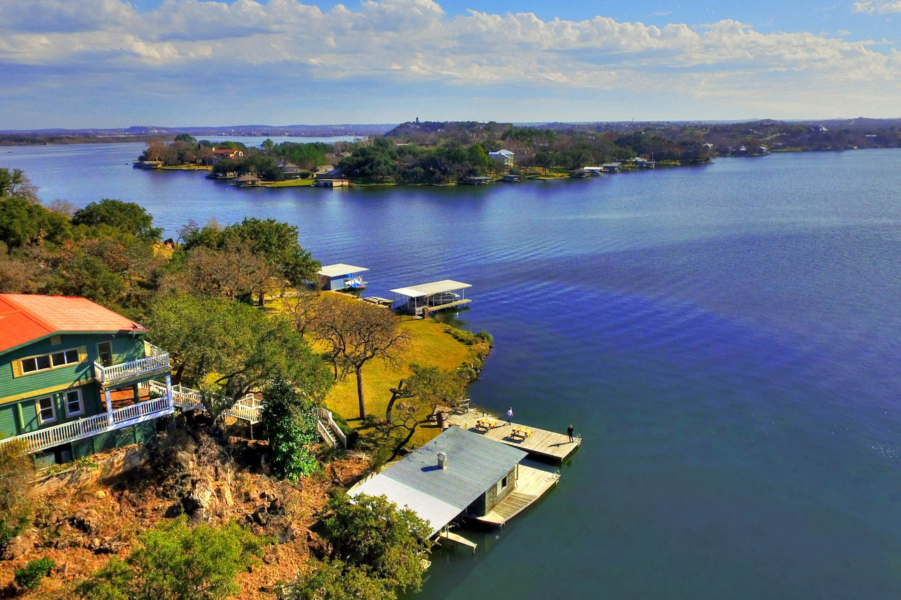 Property For Sale at Hilltop Home Overlooking Lake LBJ
