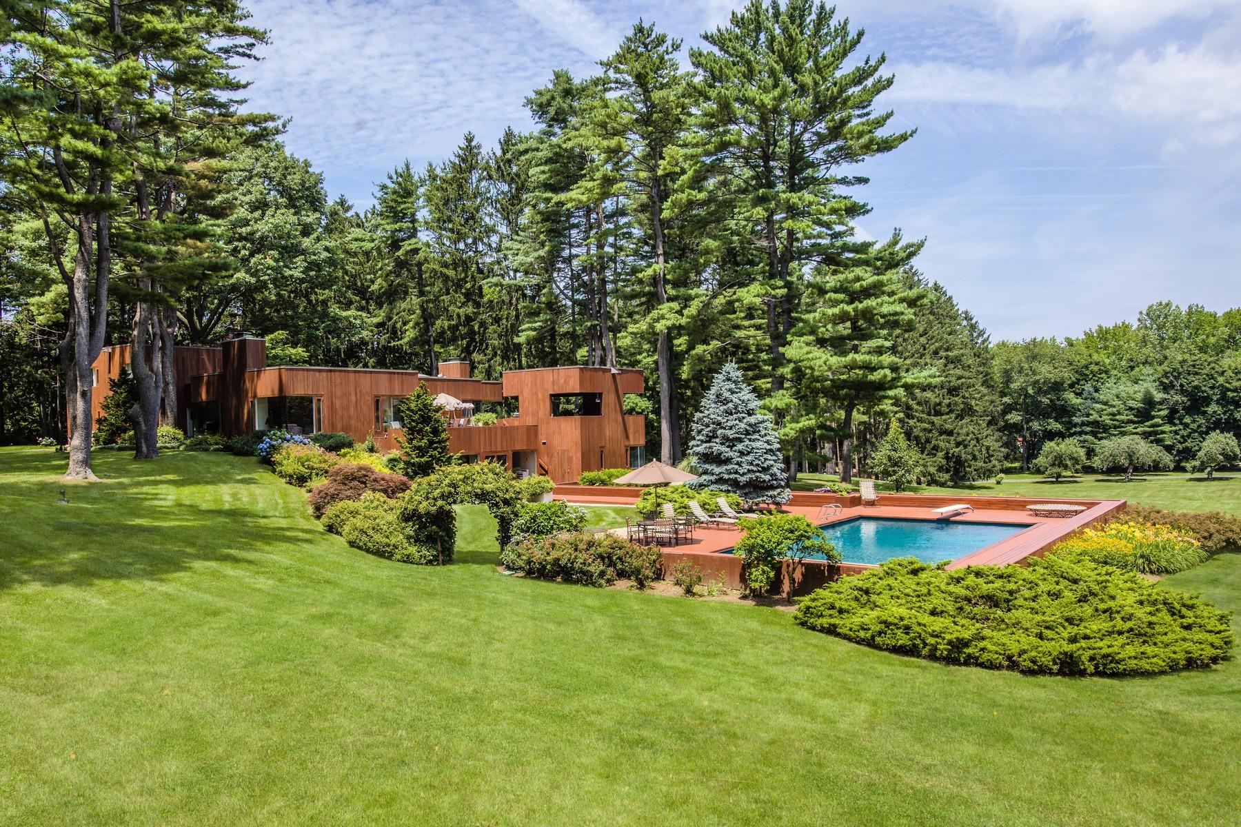 獨棟家庭住宅 為 出售 在 Contemporary 253 Lattingtown Rd Lattingtown, 紐約州, 11560 美國