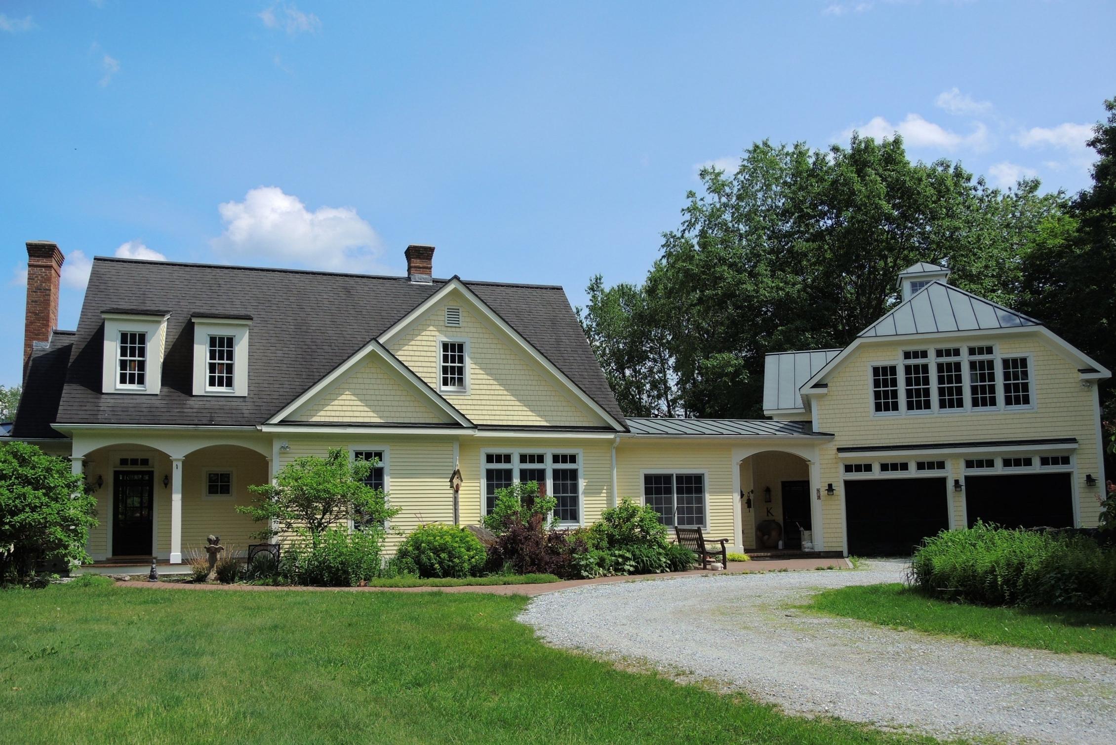Maison unifamiliale pour l Vente à Custom Built in 2001 58 Middle Rd Chittenden, Vermont 05763 États-Unis