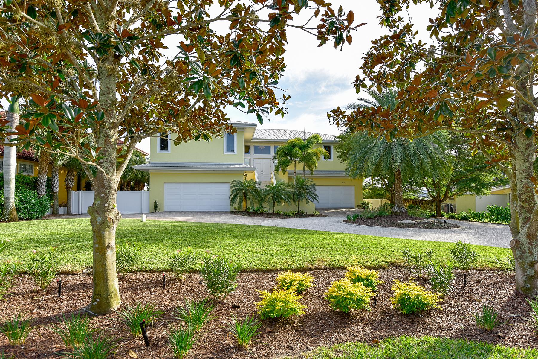 獨棟家庭住宅 為 出售 在 BAY POINT 525 Bayview Pkwy Nokomis, 佛羅里達州 34275 美國