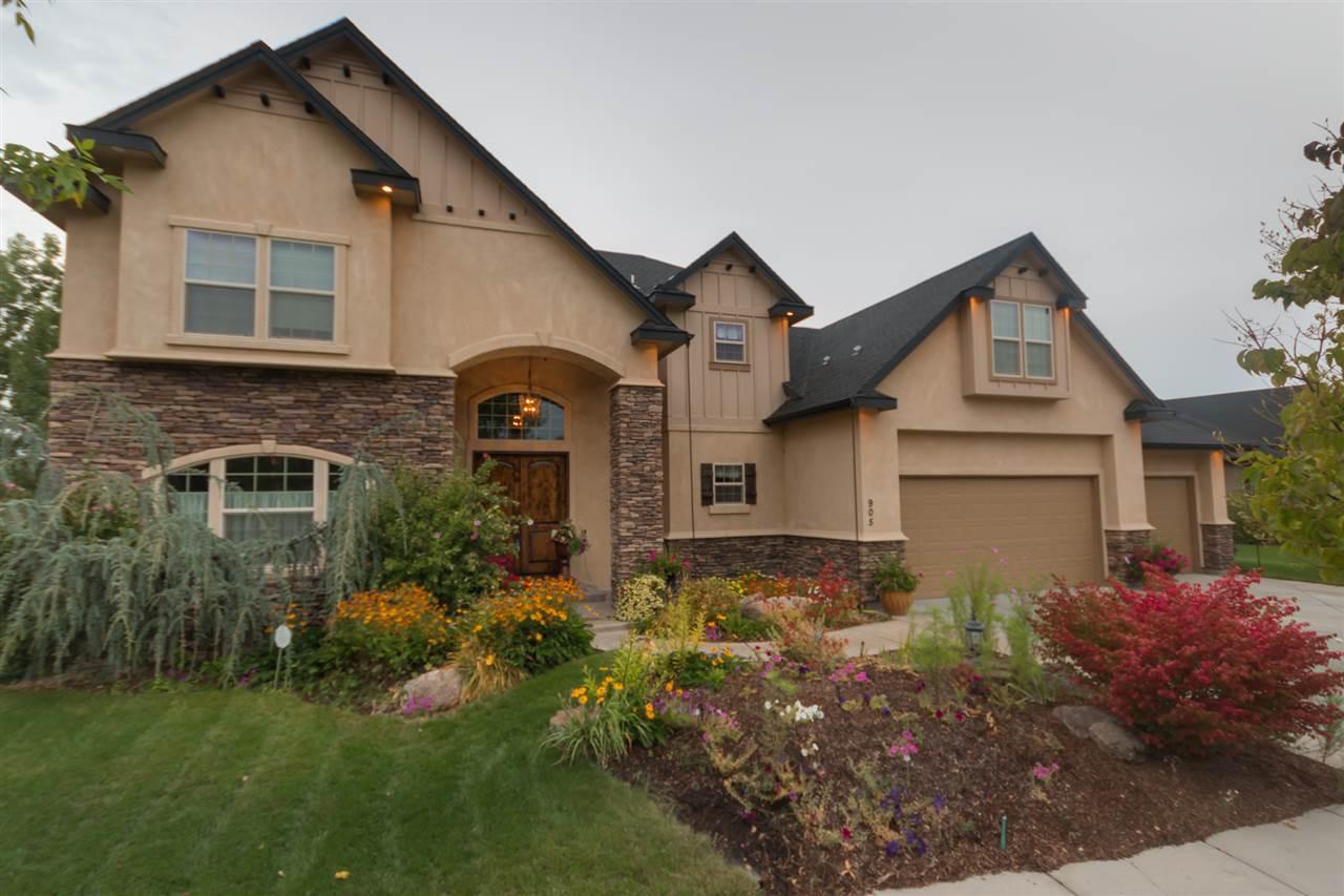 Casa para uma família para Venda às 905 Grey Pebble, Eagle 905 N Grey Pebble Eagle, Idaho, 83616 Estados Unidos
