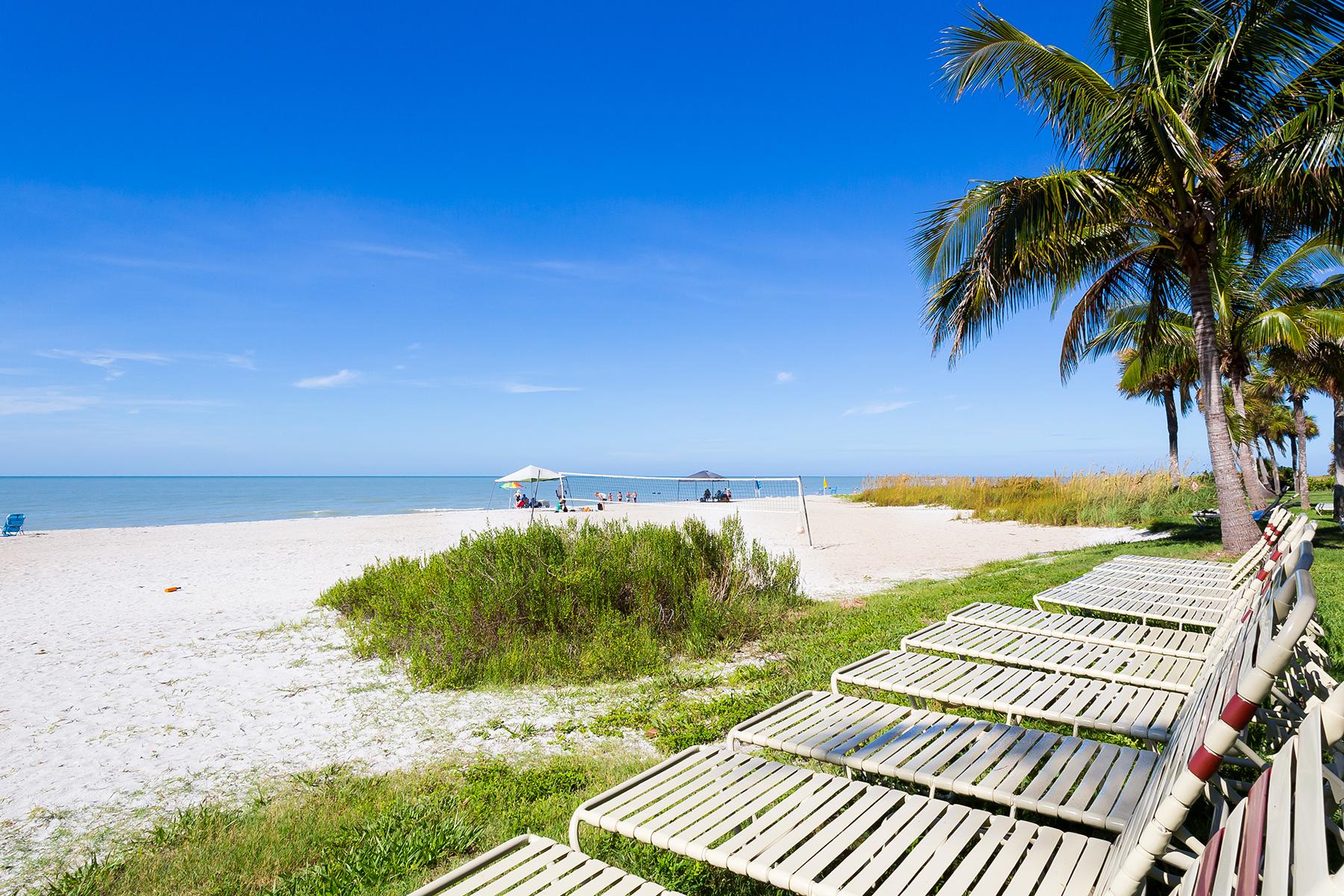 共管式独立产权公寓 为 销售 在 SANIBEL 2445 W Gulf Dr D6 撒你贝尔, 佛罗里达州, 33957 美国