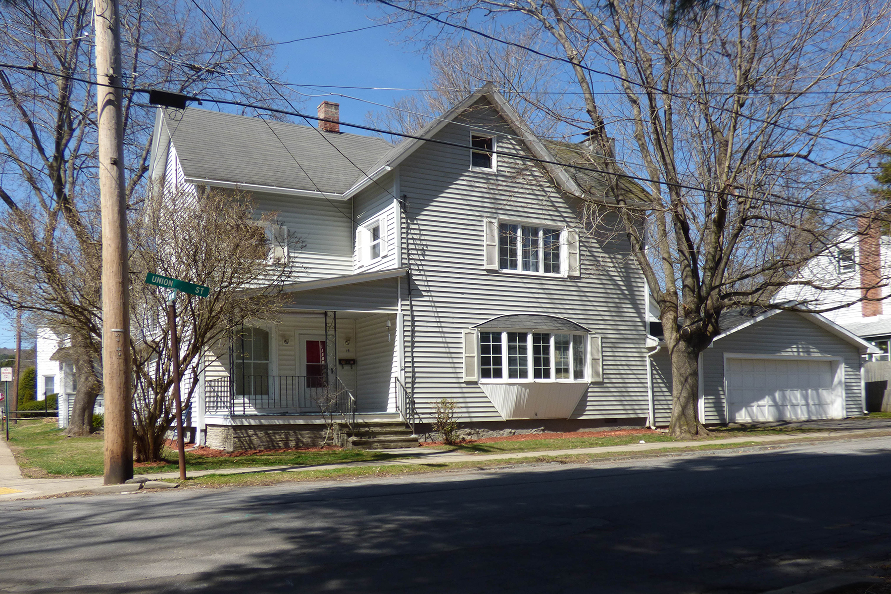 Single Family Home for Sale at Wilber Park Beauty 15 Union Street Oneonta, New York 13820 United States