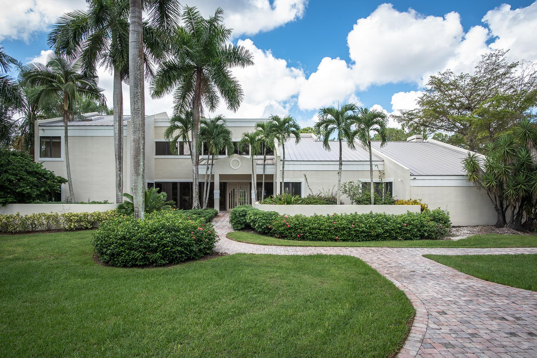 단독 가정 주택 용 매매 에 QUAIL CREEDK 13087 Pond Apple Dr E Quail Creek, Naples, 플로리다 34119 미국