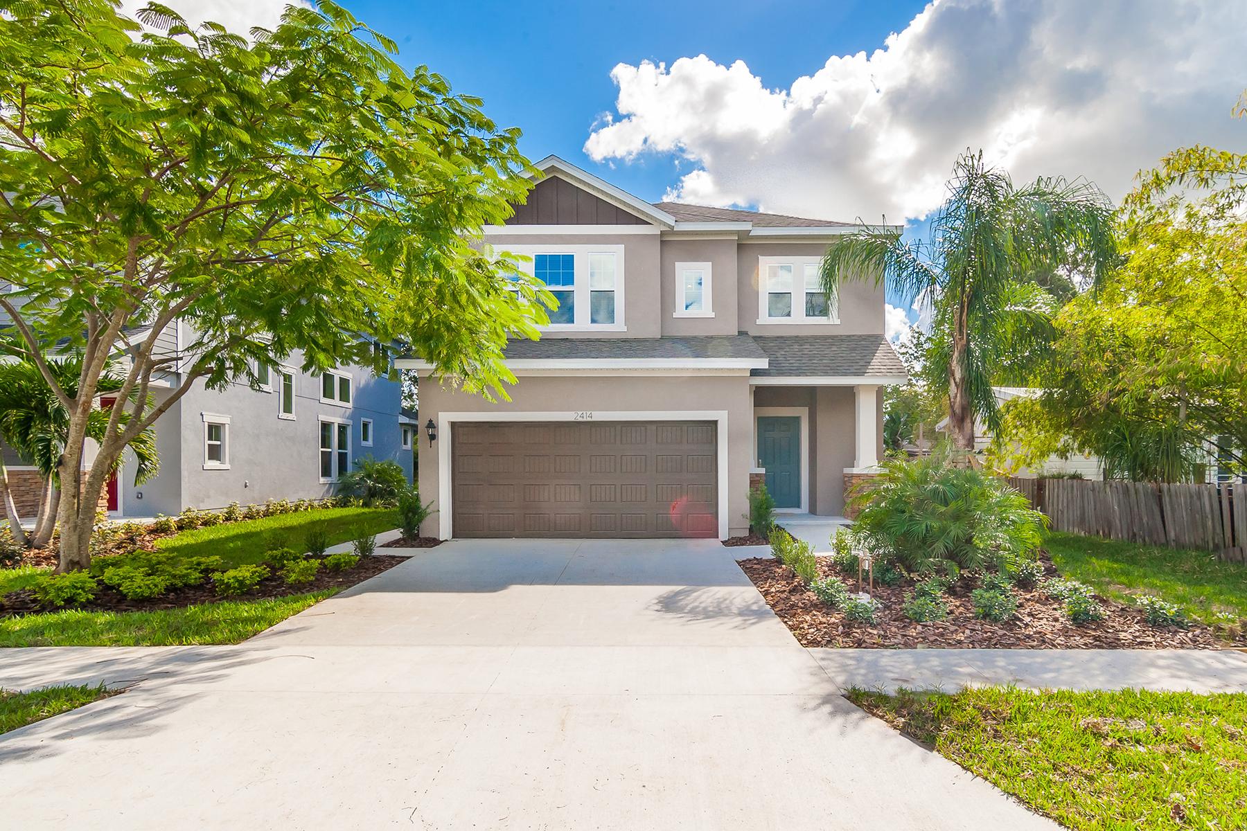 Vivienda unifamiliar por un Venta en HUDSON PARK 2414 Wood St Sarasota, Florida, 34237 Estados Unidos