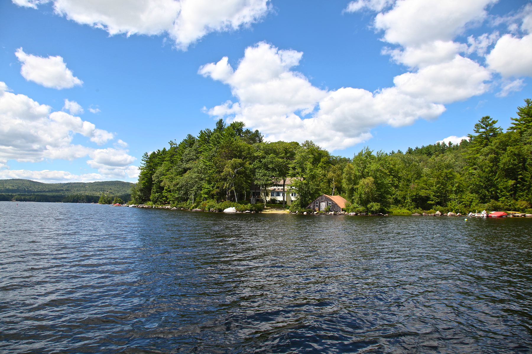 Single Family Home for Sale at Pleasant Lake 18 Duck Inlet Rd New London, New Hampshire 03257 United States