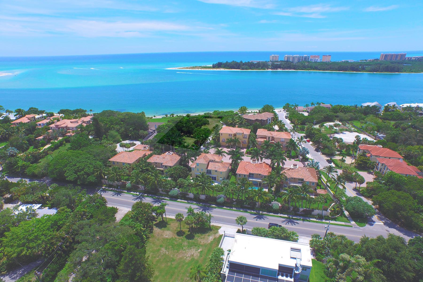 토지 용 매매 에 SOLYMAR 3928 Solymar Dr 6 Sarasota, 플로리다 34242 미국